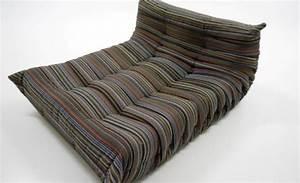 Canapé Style Togo : ligne roset le canap togo robes avec le tissu de paul smith design magazine sociale ~ Voncanada.com Idées de Décoration