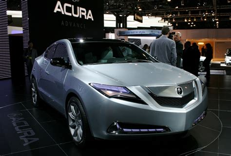 official acura zdx   produced