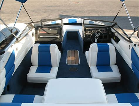 Boat Upholstery Shop by Alexanders Upholstering