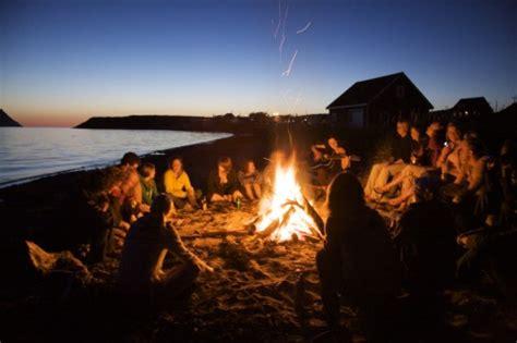 beach bonfire  tumblr