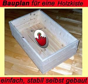 Stichsägetisch Selber Bauen : holzkiste wooden box einfach und schnell selbst gefertigt f hrung von schnitten f r deko ~ Watch28wear.com Haus und Dekorationen