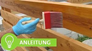 Kalkfarbe Streichen Anleitung : einfache anleitung zum zaun streichen holzzaun mit lasur ~ Lizthompson.info Haus und Dekorationen