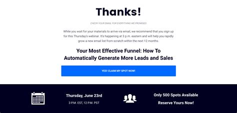 How Leverage Your Thank You Page Boost Engagement