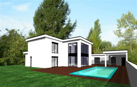 prix maison toit plat maison design mochohome
