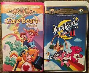 The Care Bears Movie 1  U0026 2 Vhs Clamshell Lot Of 2 Mgm