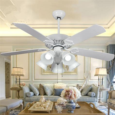 dining room ceiling fans with lights 52 inch decorative ceiling fan with 5 light wooden blade