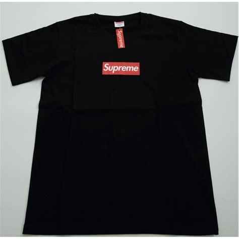 petals for sale supreme plain logo t shirt black