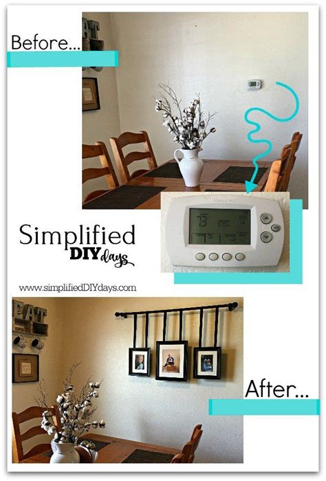 Do you have a thermostat, alarm keypad or some other control box that is right in the middle of your wall taking up your prime decorating space? Operation Hide Thermostat - (With images) | Hide ...