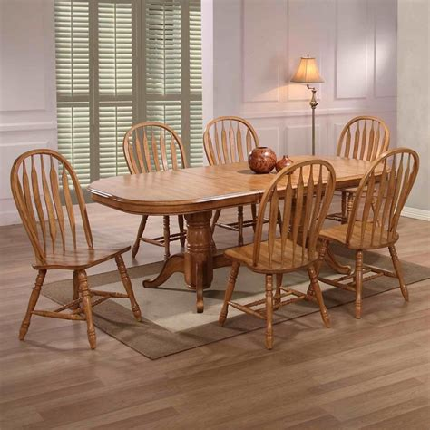 20+ Oak Dining Set 6 Chairs