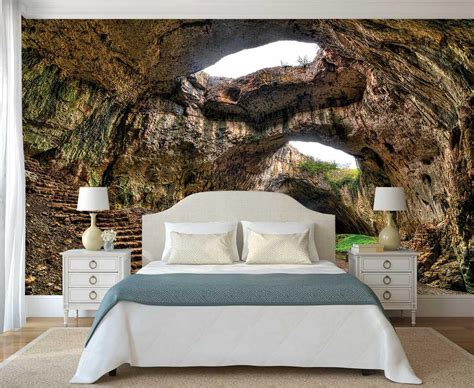 Peel And Stick Wall Mural Wall Mural Cave Removable Etsy