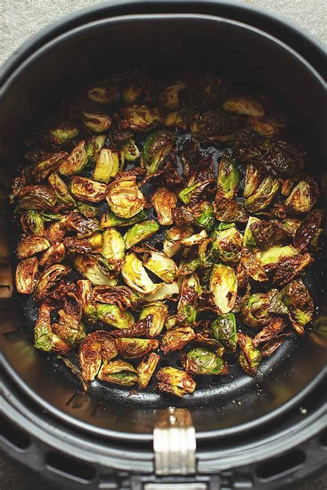 fryer air sprouts brussels recipes crispy bacon recipe cooking tender perfectly brussel cook rezeptideen grilled jenniferbanz backen them healthy sprout