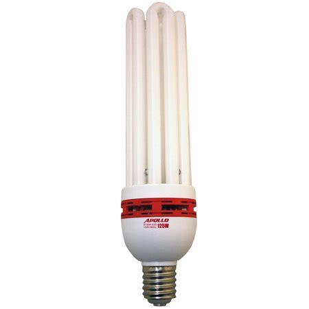 fluorescent grow lights apollo horticulture 125 watt cfl compact fluorescent grow