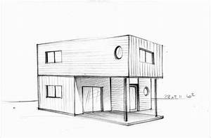 photos maison dessin architecte architecture sketch With faire plan maison 3d 5 dessiner sa maison les outils de plan et 3d