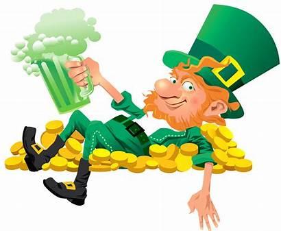Transparent Leprechaun Clipart Clip Patrick Patricks Saint