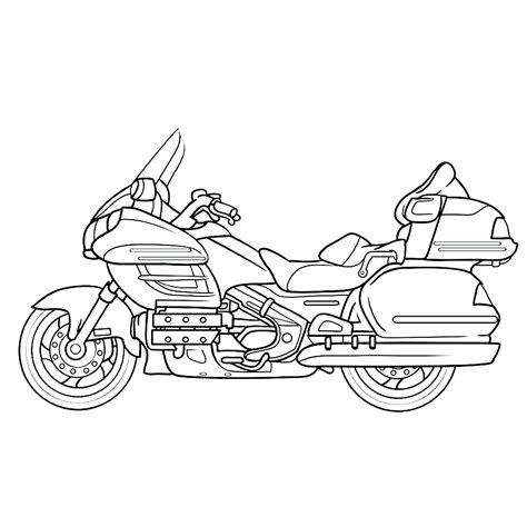Kleurplaat Crossmotors by Leuk Voor Motor 0005