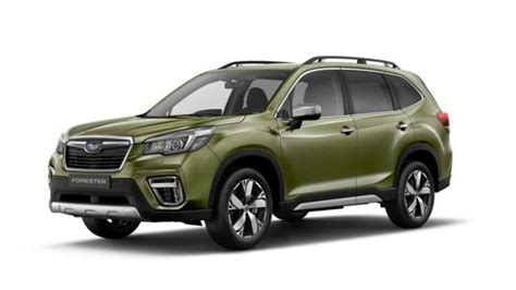 subaru forester   boxer hybrid due late  year