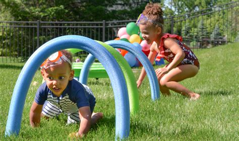 The Ultimate Obstacle Course For Kids & Backyard Fun Ideas