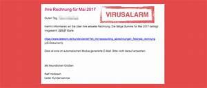 Telekom Festnetz Rechnung : viruswarnung e mail ihre telekom festnetz rechnung mai 2017 ist spam alle fakten ~ Themetempest.com Abrechnung