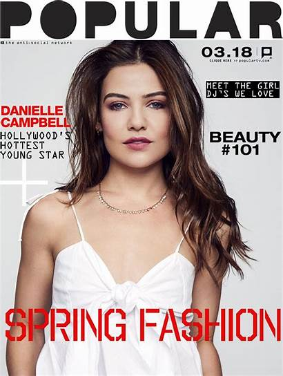 Danielle Campbell Magazine Popular Tv March Theplace2