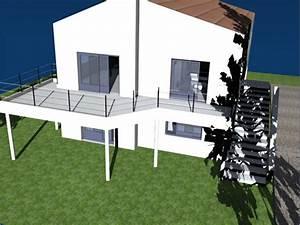 terrasse beton pilotis nos conseils With terrasse beton sur pilotis