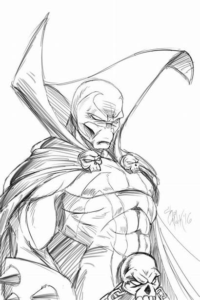 Spawn Draw Pencil Drawings Easy Sketches Lets