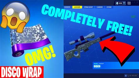 disco wrap  fortnite  youtube