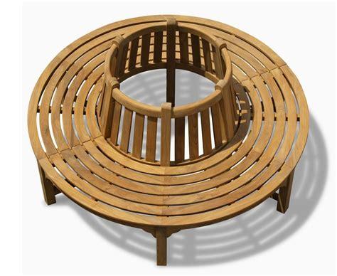 Teak Circular Tree Seats