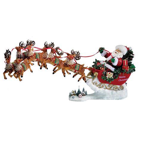 kurt s adler 24 quot fabriche musical santa with eight