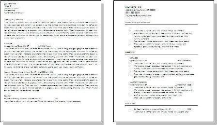 Easy Way To Make A Resume by Easy Way To Make A Resume Resume Sle