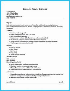 Cover Letter Examples Medical Assistant Impress The Recruiters With These Bartender Resume Skills