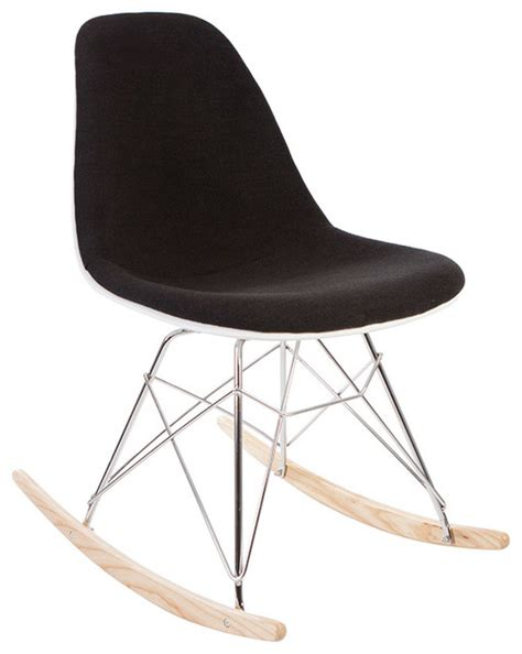 high quality mid century retro rsr rocking side chair