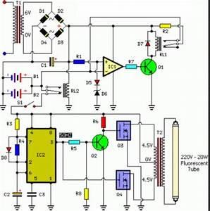 Alvyandi I Fadhilah  Rangkaian Lampu Emergency  Otomatis
