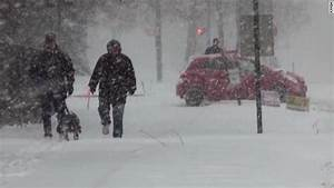 Blizzard Blasts Upper Midwest