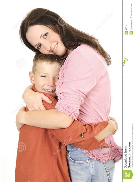 Mother Son Stock Image