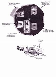 1955 Chevrolet Ignition Switch Wiring Diagram