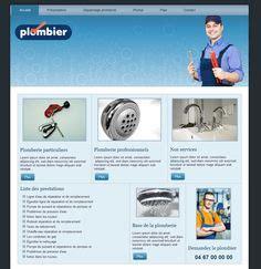 exemple de site vitrine flyer plombier par clicali http clicali communication print flyer print plombier
