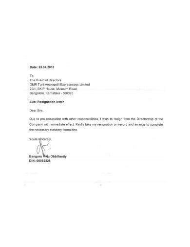 10+ Immediate Resignation Letter Templates in Google Docs   Word   Pages   PDF   Free & Premium
