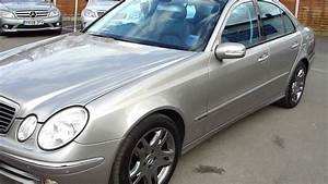 Mercedes E320 Cdi : 2004 mercedes e320 cdi avantgarde saloon auto diesel with panoramic roof silver mercland youtube ~ Medecine-chirurgie-esthetiques.com Avis de Voitures