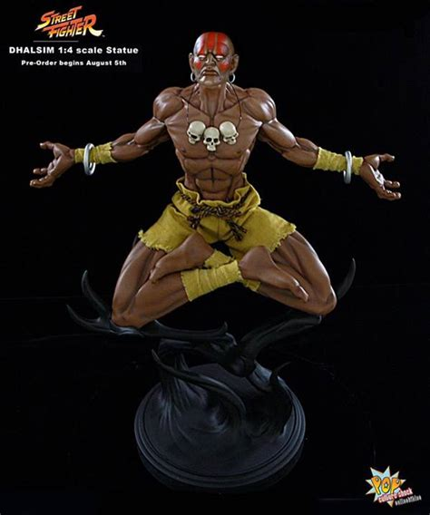 Pop Culture Shock Street Fighter Dhalsim Statues The