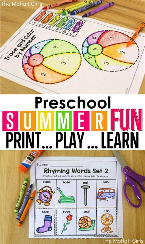 Summer Review Packets!  Kids Learning, Fun Activities And Kindergarten