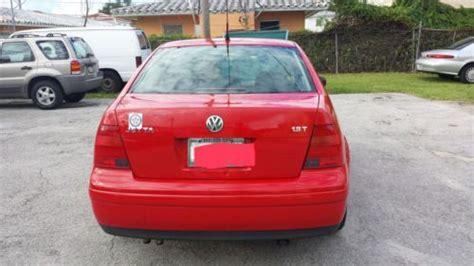 Sell Used Volkswagen Jetta 1.8t Wolfsburg Edition 2001