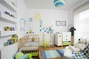 Peinture Murale Blanche : d co chambre enfant 77 id es qui vont vous inspirer ~ Nature-et-papiers.com Idées de Décoration