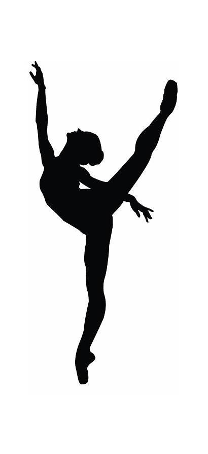 Dancer Kick Dance Silhouette Drawing Contemporary Arts