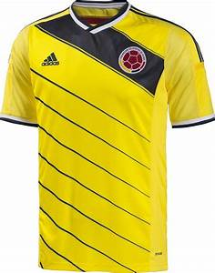Colombia 2014 World Cup Kits Released - Footy Headlines