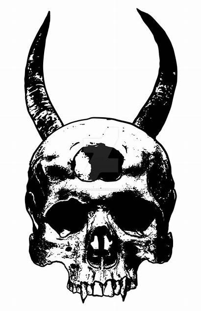 Skull Satan Nuclear Deviantart Dark