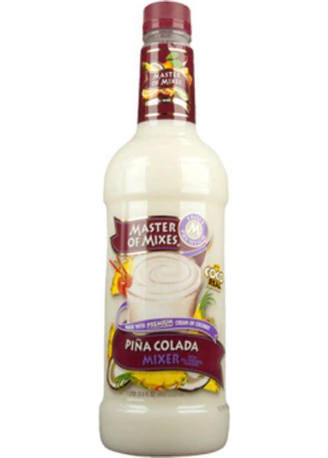 pina colada mix master of mixes pi a colada mixer 1 75l