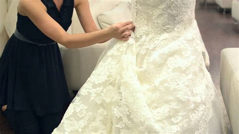 Adding Bustles To A Wedding Dress