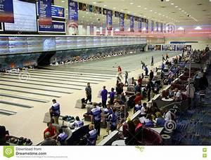 Bowling Tournament  National Bowling Stadium  Reno Nevada Editorial Photo  Image of events