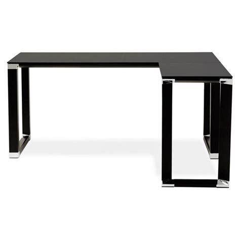 bureau verre trempé noir bureau en verre trempe noir 28 images bureau