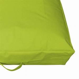 Coussin Vert Anis : coussin de sol gonflable vert anis bain de soleil et hamac eminza ~ Teatrodelosmanantiales.com Idées de Décoration
